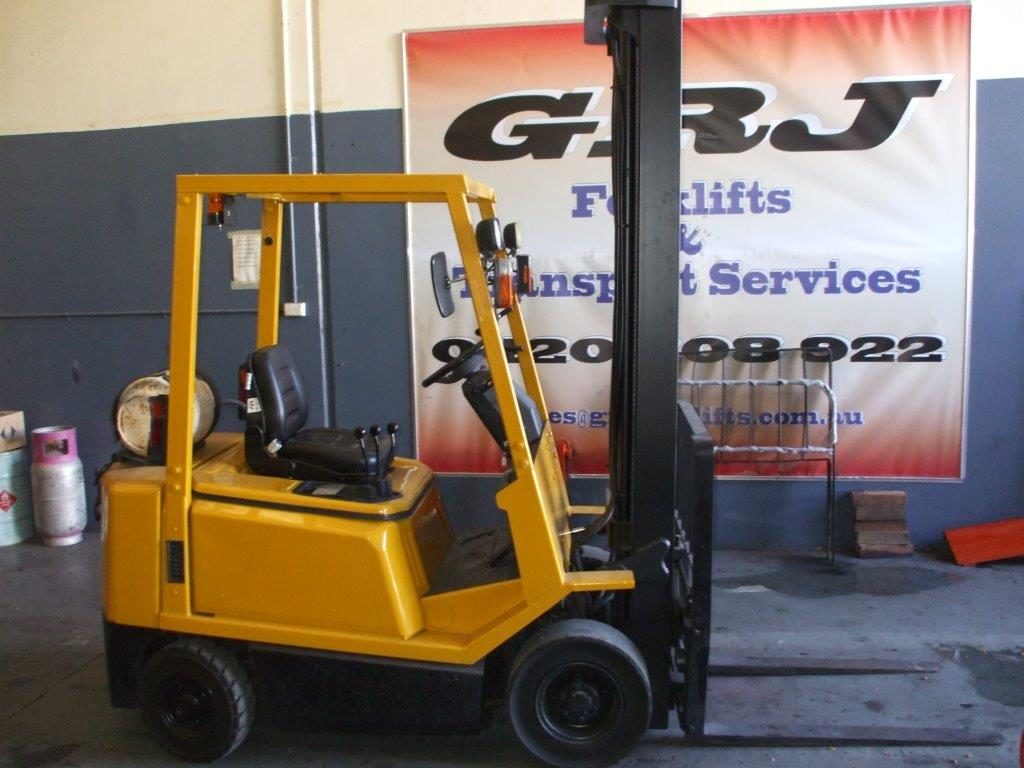 Hyster model 1.7 tonne forklift for hire Melbourne