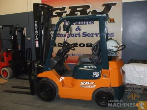 Toyota 7 Series forklift