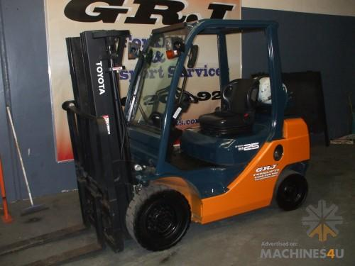Used Forklift for Sale- Toyota Current Model 8 Series